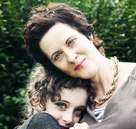 Anne Marie Cockburn and daughter