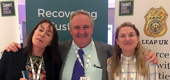 Recovering Justice & LEAP uk with David Nutt @UKESAD discussing modern neuroscience